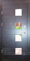 Входная дверь модель Т-1-3 501 vinorit-20 СТЕКЛО