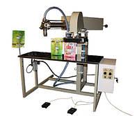 Полуавтомат для фасовки жидких и вязко-жидких продуктов в ДОЙ-ПАК пакеты