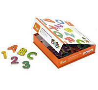 Набор магнитных букв и цифр Viga Toys Буквы и цифры (59429)