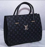 Женская каркасная черная сумка LOUIS VUITTON, Луи Виттон