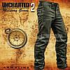 """Джинсы милитари """"UNCHARTED-II"""" OLIVE"""