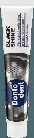 Зубная паста с активированным углем отбеливающая Dontodent Zahncreme Black Shine, 75 ml