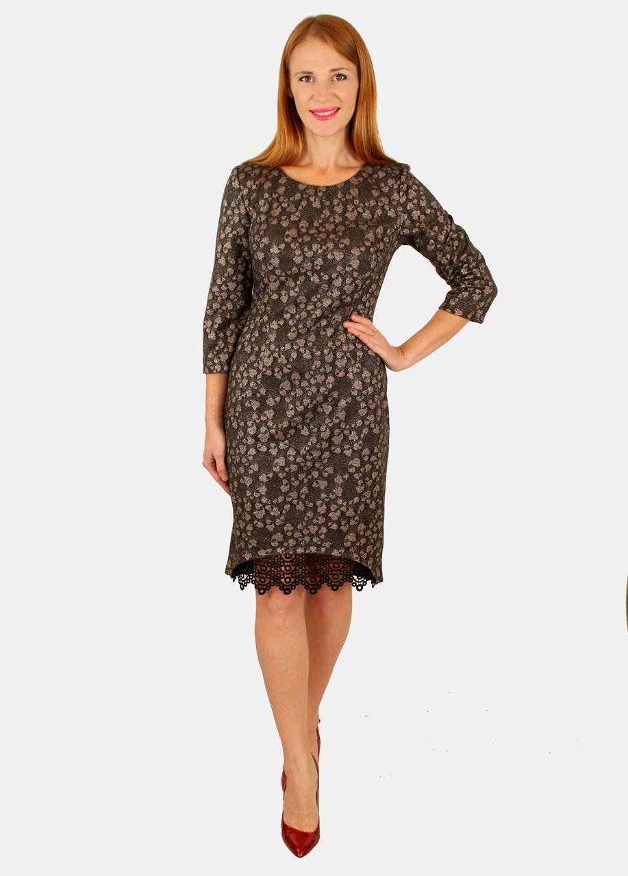 60dab060b0eb Нарядное платье с кружевом 44-50 р - Оптовый интернет-магазин по продаже  женской
