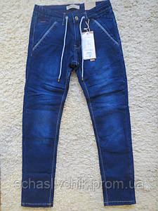 Зимние  джинсы на флисе для мальчиков подростков с Венгрии оптом , размер 134-164, фирма Grace
