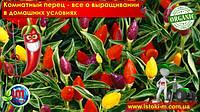 Комнатный острыйи перец - выращивание в домашних условиях