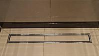Линейный трап для душа 70 см WINKIEL Fino с решеткой CONTI и возможностью вклеивания плитки