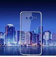 Силикон ультратонкий (0,33мм) Samsung G530/J2 Prime (Clear)