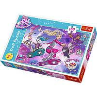 "Пазл ""100"" - Galactic adventure Barbie / Mattel Barbie Star Light Adventure, 16296"