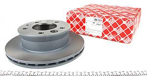 Тормозной диск передний Фольксваген ЛТ /  Sprinter 901-904 / VW LT c 1996 - 2006 FEBI  07517 Германия , фото 2