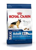 Корм для собак Royal Canin Maxi Adult 5+ 15 кг корм для крупных пород собак старше 5 лет