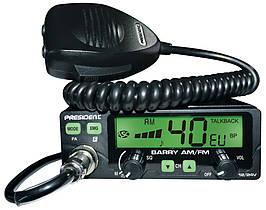 Радиостанция CB President BARRY ASC 12/24V (Автомобильная 27 МГЦ)