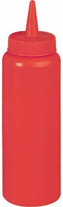 Диспенсер 350 мл. для соусов и сиропов (красный) EMPIRE М-7079, фото 2