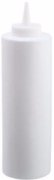 Диспенсер 350 мл. для соусов и сиропов (белый) EMPIRE М-7083