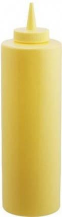 Диспенсер 350 мл. для соусов и сиропов (желтый) EMPIRE М-7082, фото 2