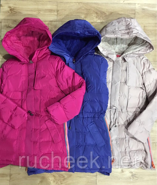 Куртка удлиненная для девочки 8 - 14 лет, ТМ Grace G50681, Венгрия