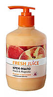 Крем-мыло Fresh Juice Peach (персик и магнолия) - 460 мл.