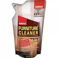 Средство для чистки деревянных поверхностей мебели Sano Запаска 500мл