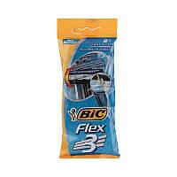 Одноразовые мужские станки для бритья BIC Flex 3 (2шт)