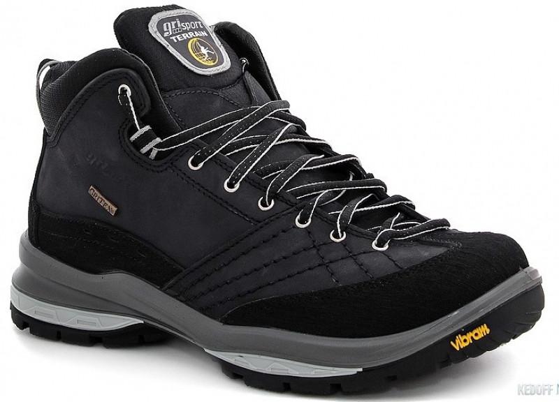 Зимние кроссовки высокие на шнурках модные мембрана GriTex Grisport