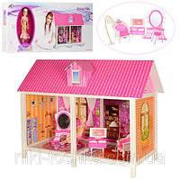Домик 66882 (6шт) 84-41,5-63,5см, кукла 28см, мебель, в кор-ке, 85,5-36-6см