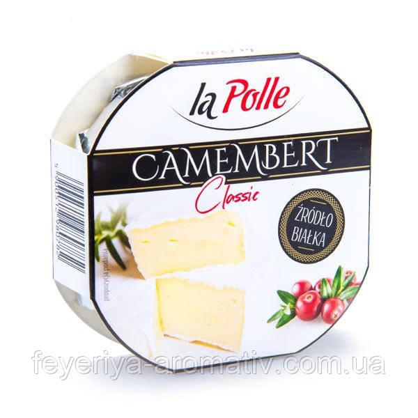 Сыр с плесенью La Polle Camembert Classic 120 g (Польша)