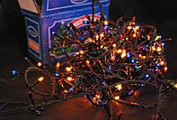 Гирлянда новогодняя 600 лампочек мульти цвет 17,75 метра
