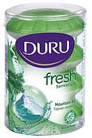 Туалетное мыло Duru Fresh Sensations Mountain Air Горная свежесть 4х115г