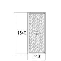 Окно1540мм х 740мм
