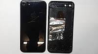 Крышка задняя Apple iPhone 7 Bright black (гланцевая) high copy