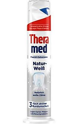 Освіжаюча зубна паста Theramed Natur-Weib з дозатором 100 мл.
