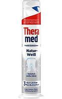 Освіжаюча зубна паста Theramed Natur- Weib з дозатором 100 мл.