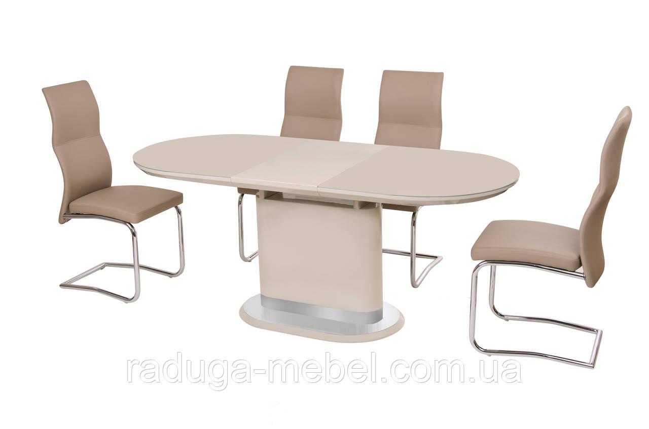 Стол кухонный обеденный капучино TМ-56