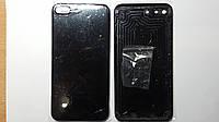 Крышка задняя Apple iPhone 7 Plus Bright black (гланцевая) high copy