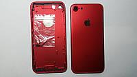 Крышка задняя Apple iPhone 7 красная high copy