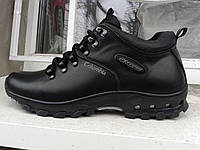 Мужские кожаные невысокие ботинки columbia