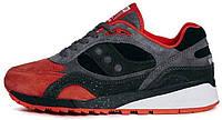 Мужские кроссовки Saucony 6000 Red/Black