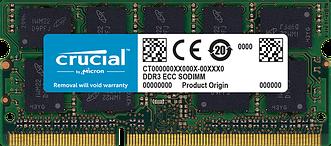 Оперативная память Crucial 8GB DDR3L-1600 1.35V
