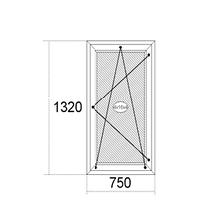 Окна1320мм х 750мм