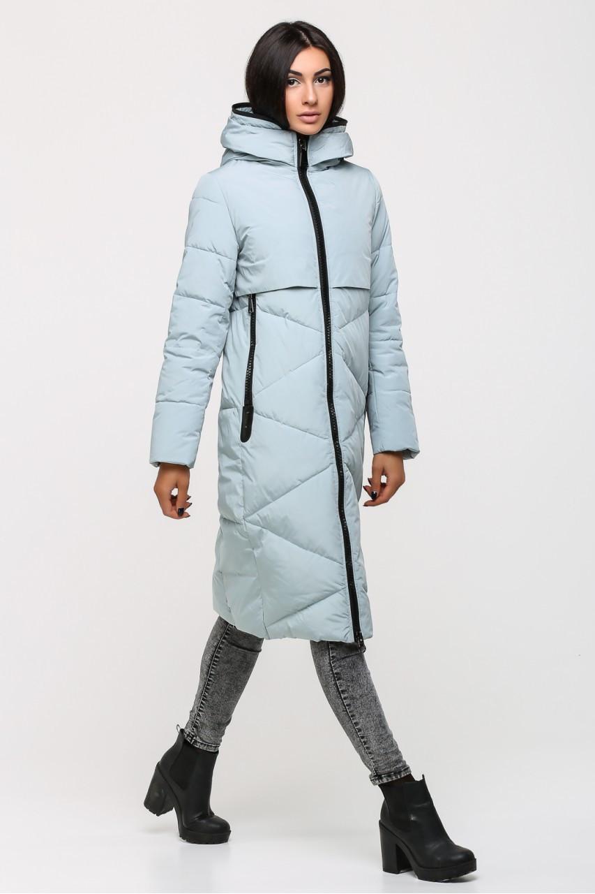 c505563ab3a7 Женский пуховик SNOW OWL 17A7347M (голубой), цена 2 000 грн., купить ...