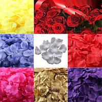 Лепестки роз свадебные 200 шт