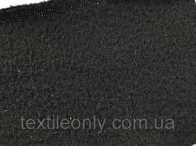 Ткань Флис микро цвет черныйширина 180 см