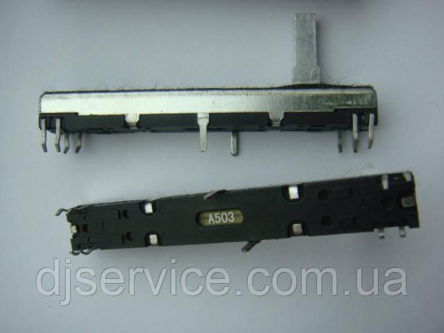 Фейдер длиной 60мм a50k для Mackie vlz1604, cr1604-vlz
