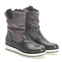 Качественные ботинки на толстой подошве для любой погоды