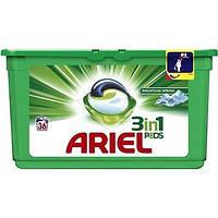 Капсулы для стирки  Ariel Pods 3 in1 Mountain spring 36 шт