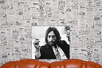 Джон Леннон. John Lennon. 40х35 см. Картина на холсте.