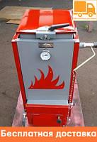 """Шахтный твердотопливный котел """"Холмова"""" ЭКО Комфорт - 18 кВт. Длительного горения."""