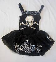 Карнавальный костюм на Хелоуин Скелетонша 7-8 лет