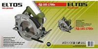 Пила дисковая (циркулярная) ELTOS ПД 185-1700 л