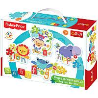 Пазлы для малышей «Baby Classic - Rainbow Forest II» 36059 Fisher-Price