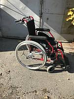 Качественная удобная инвалидная коляска  сиденье 39 см   б/у  Германия